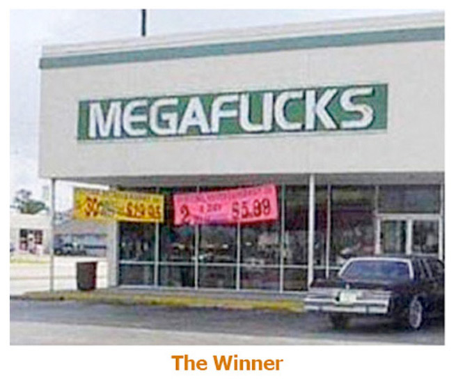 Megaflicks takes the number 1 spot for a badly designed logo