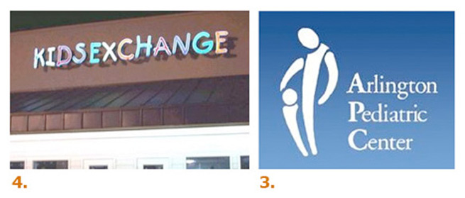 two examples of logo disasters