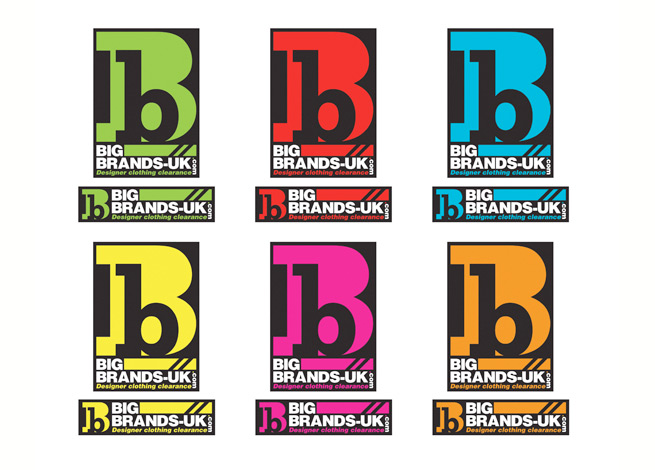 Leeds online clothing retailer Big Brands new logo