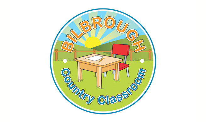 Vector logo illustration for Bilbrough Country Classroom