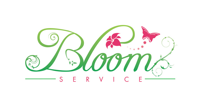 Cheap business card designers and printers in york floral logo design for york florist bloom service reheart