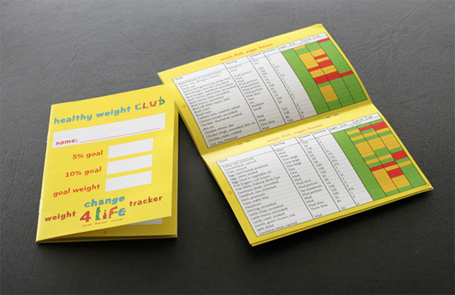 a brochure we designed for York NHS healthy weight programme