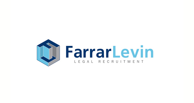 A graphical logo we designed for Farrar Levin Legal Recruitment