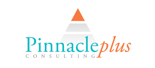 Pinnacleplus consulting logo design