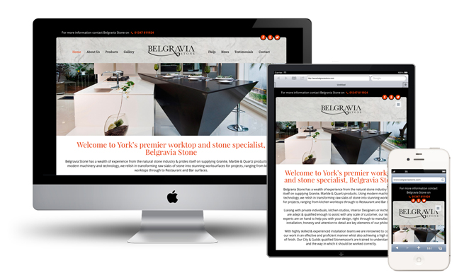 responsive web designers york