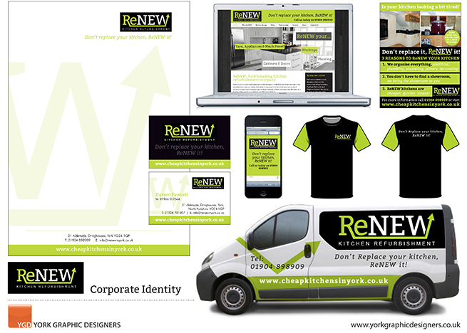 corporate identity for RENEW